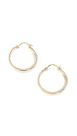 Gorjana Jax Small Hoops | SHOPBOP