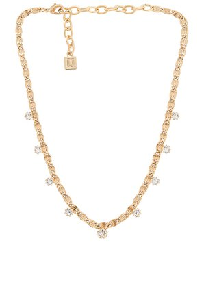 DANNIJO Audra Necklace in Gold | REVOLVE