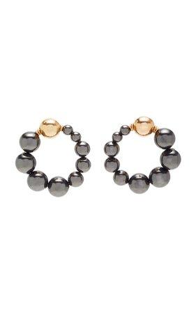 Cami Pearl And Gold Earrings by Beck Jewels | Moda Operandi