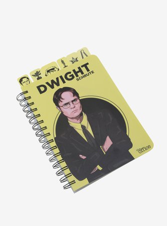 The Office Dwight Tabbed Journal