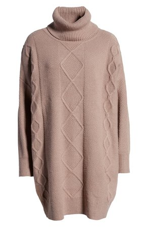 MINKPINK Lesley Cable Tunic Sweater | Nordstrom
