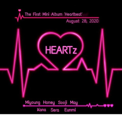 heartz first mini album