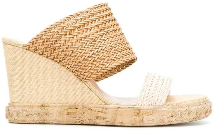 open-toe wedge sandals