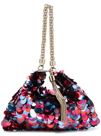 Jimmy Choo Sequin Embellished Callie Bag - Farfetch