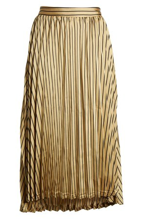 J.O.A. Pleated Midi Skirt | Nordstrom