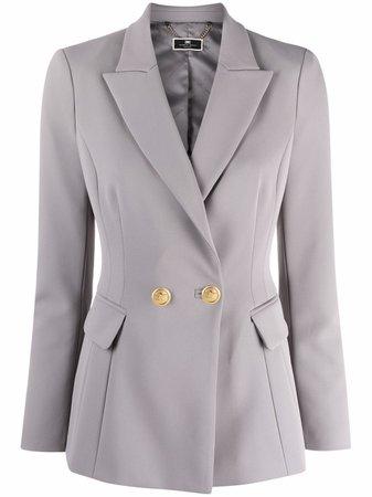 Elisabetta Franchi panelled double-breasted blazer