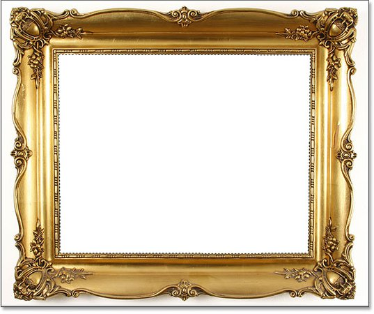 Gold Rectangular Frame (vintage)