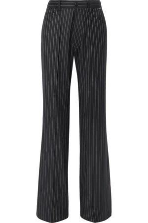 Balenciaga | Pinstriped wool and cashmere-blend pants | NET-A-PORTER.COM