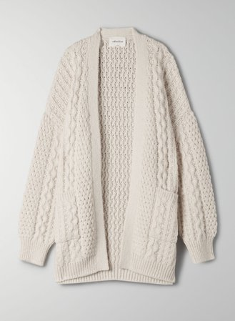 Wilfred Free CABLE KNIT CARDIGAN | Aritzia US
