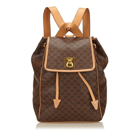 Celine - Macadam Backpack : MyPrivateDressing. Buy and sell vintage and second hand designer fashion and watches. Free listing. Authenticity – Trade Protection – Money back Guaranteed
