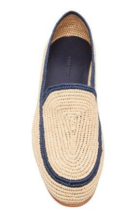 Atlas Raffia Loafers By Carrie Forbes | Moda Operandi