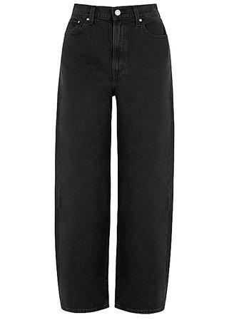 Levi's Black straight-leg jeans - Harvey Nichols