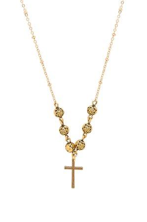 The Celine Cross Necklace