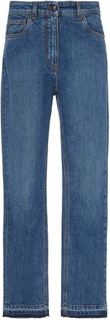 High-Rise Skinny Cropped Ankle Jeans