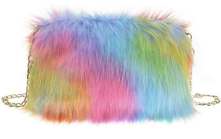 fur purse