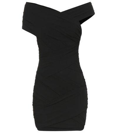 Stretch-Jersey Minidress   Alexandre Vauthier - Mytheresa