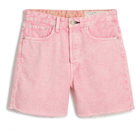 Maya High Waist Denim Shorts