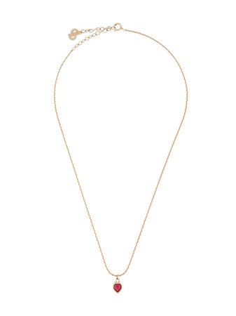 Christian Dior Heart Pendant Necklace - Farfetch