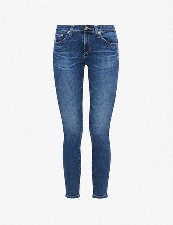 AG - The Legging Ankle skinny high-rise jeans | Selfridges.com