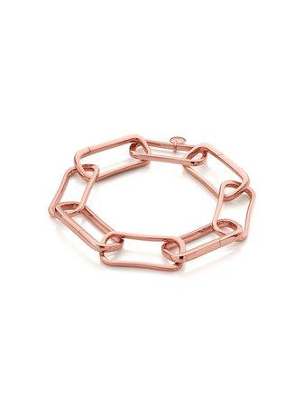 Monica Vinader Alta Capture Large Link Charm Bracelet | Farfetch.com