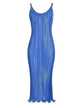 Versace Plissé Dress   SaksFifthAvenue