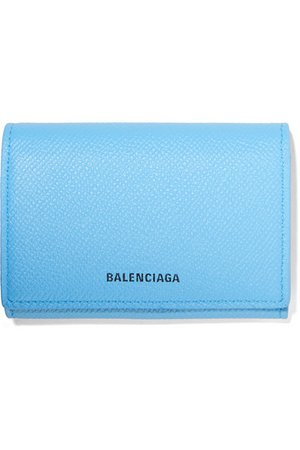Balenciaga | Ville printed textured-leather cardholder | NET-A-PORTER.COM