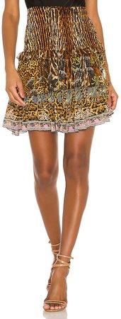 Layered Frill Skirt