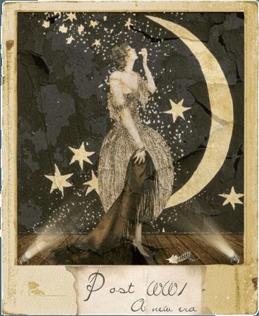 Vintage Star Poster
