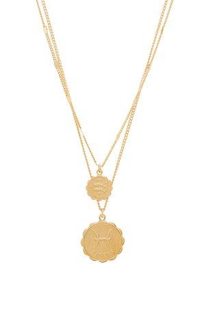 Pisces Zodiac Necklace Set