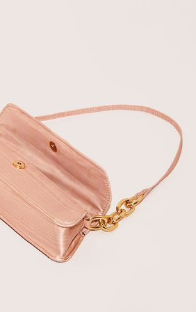Pink Thin Baguette Bag   Accessories   PrettyLittleThing