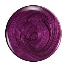 dark purple nail polish filler