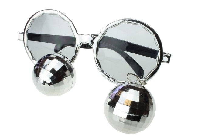 Disco Ball Novelty Sunglasses