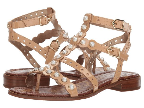 Sam Edelman - Elisa 2 (Almond Patent) Women's Sandals