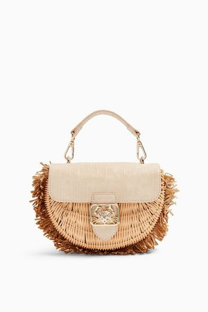 SEB Natural Straw Cross Body Bag | Topshop