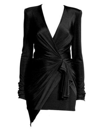 St. John - Architectural Grid Jacquard Knit V-Neck A-Line Dress - saks.com