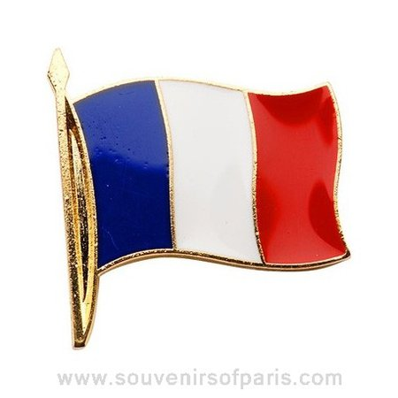 french flag pin