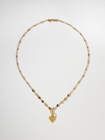 The Kaye Necklace   Vanessa Mooney   Color Gold Necklaces size Size One Size