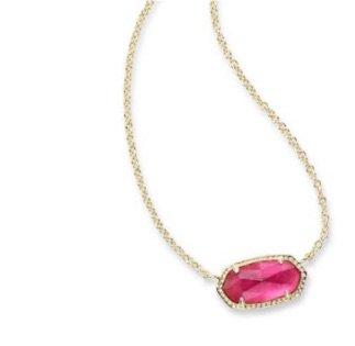 Pink Kendra Scott Necklace