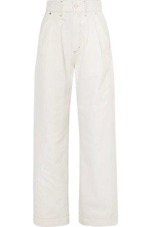 Goldsign | The Trouser high-rise wide-leg jeans | NET-A-PORTER.COM