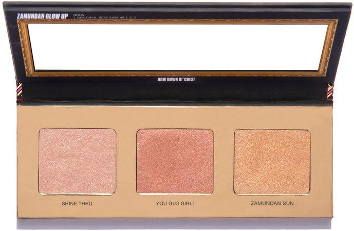 Uoma Beauty Black Magic 'Coming 2 America' Zamundan Glow Up Color Palette