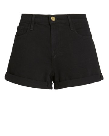 FRAME | High-Rise Denim Shorts | INTERMIX®