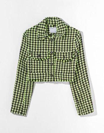 Cropped overshirt - Outerwear - Woman   Bershka