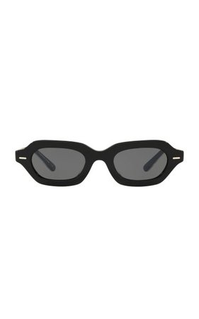 L.a. Cc Acetate Square-Frame Sunglasses By Oliver Peoples The Row | Moda Operandi
