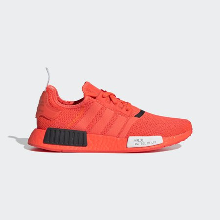 Men's NMD R1 Solar Red Shoes   adidas US