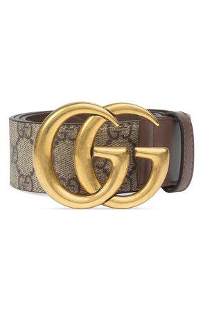 Gucci GG Supreme Canvas Belt | Nordstrom