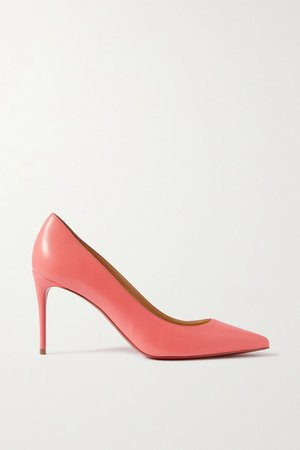Kate 85 Leather Pumps - Pink