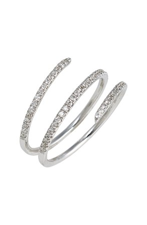 Bony Levy Diamond Coil Ring (Nordstrom Exclusive) | Nordstrom