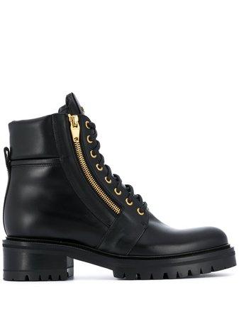 Balmain Chunky Ankle Boots - Farfetch