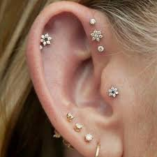 multi pierced ears