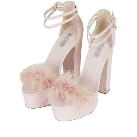 LORETTA Feather Platforms | Platform, Feathers and Topshop